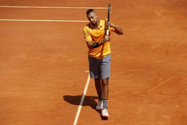 Nick Kyrgios, descalificat la Roma, după un comportament golănesc - video